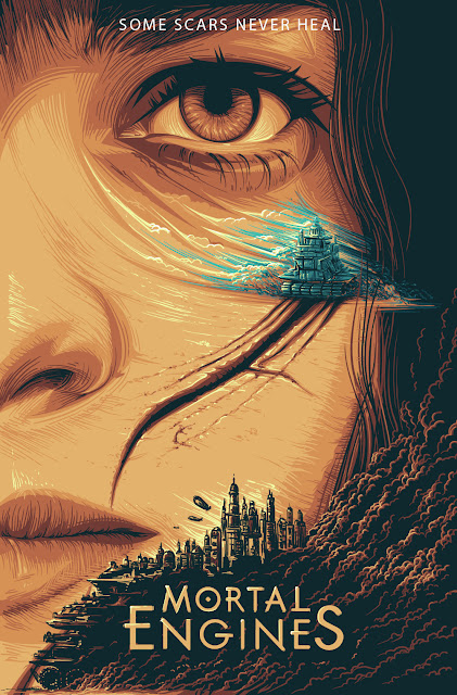 Hester Shaw Mortal Engines movie poster
