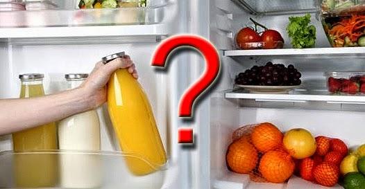 alimentos que não devem ir pra geladeira