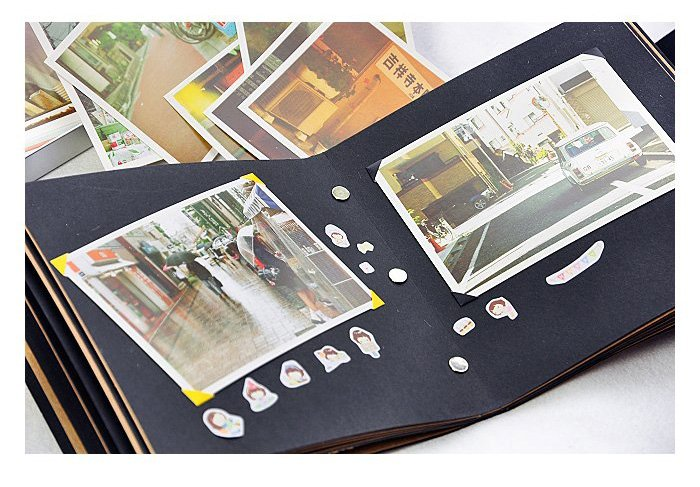 Photo corner stickers