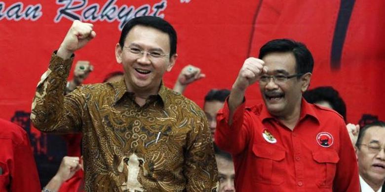 PDIP Resmi Usung Ahok-Djarot di Pilkada DKI 2017 Mendatang