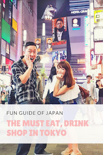 The Must Eat, Drink and Play in Tokyo {Fun Guide of Japan} | angelichigo.blogspot.ca