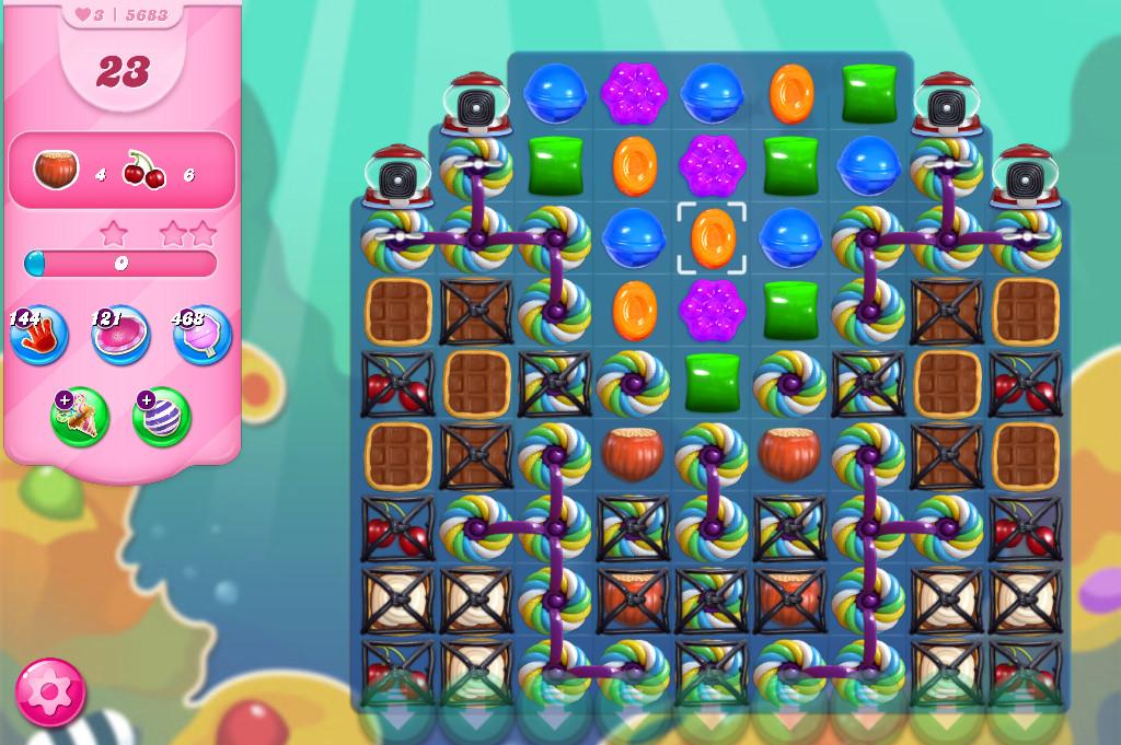 Candy Crush Saga level 5683