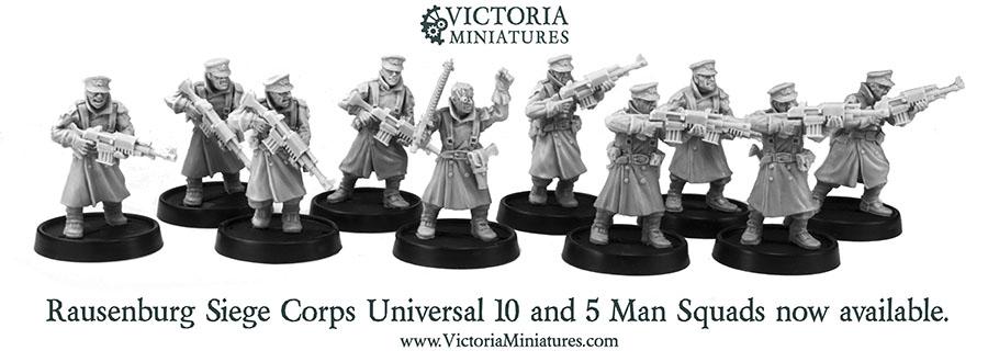 Wargame News and Terrain: Victoria Miniatures: Rausenburg