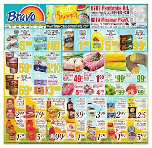 Bravo Supermarkets Ad Circular June 27 - July 3, 2019
