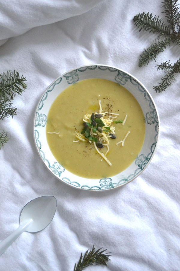 recette soupe poireau pomme de terre