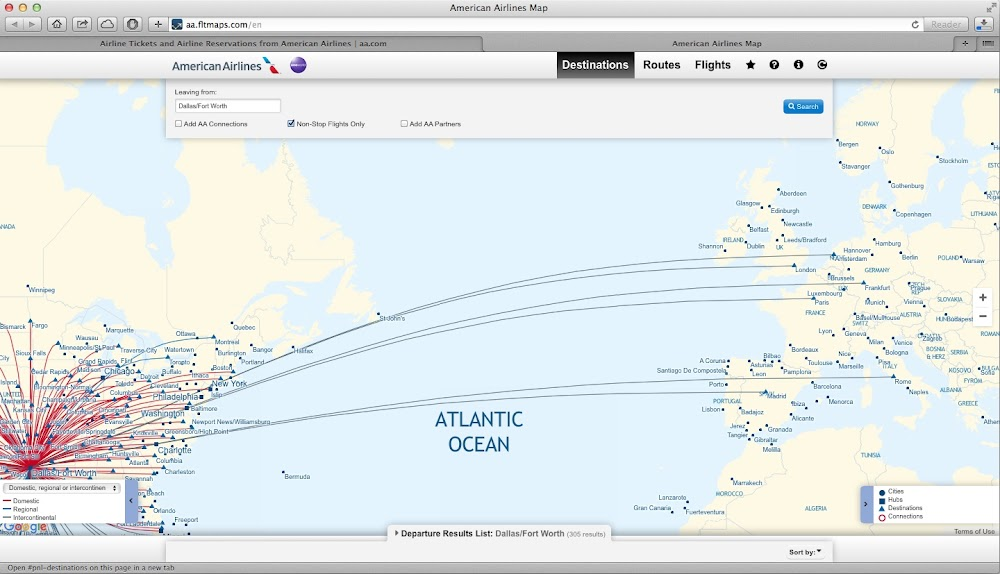 Non Stop American Flights From Europe To Dfw Flyertalk