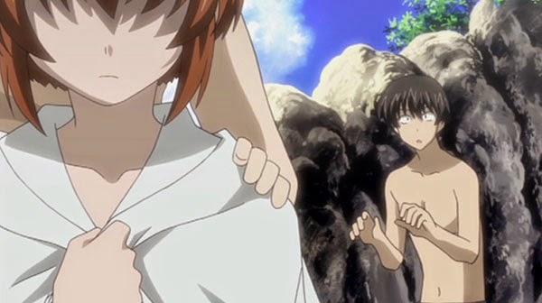 Tonagura - Rekomendasi anime romance teman masa kecil jadian (Childhood friend)
