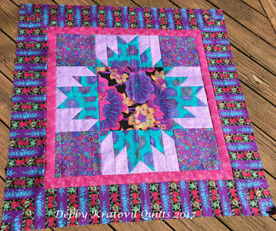 Debby Kratovil Quilts Sewing With Some Bold And Bright Prints