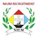 NIUM Teaching & Non Teaching Staff Recruitment