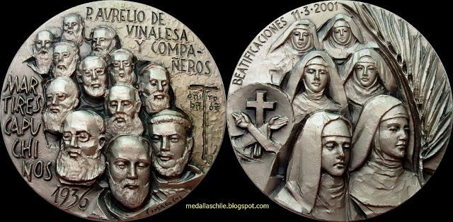 Medalla Martires Capuchinos
