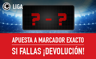sportium Promo Liga: Marcador 'con seguro' 19-21 enero