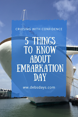 5 things to know about embarking a cruise ship