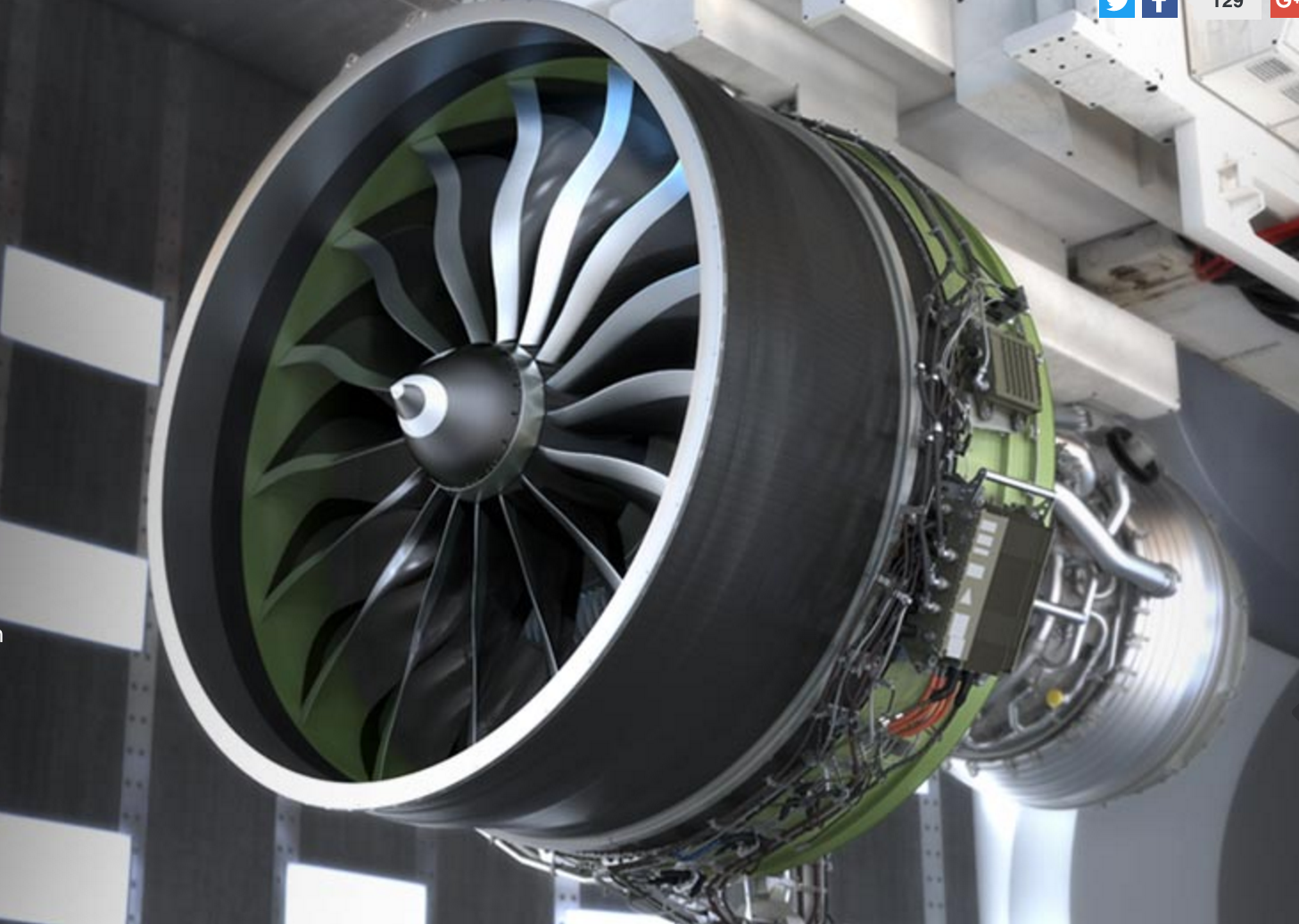 Fourth Generation Composites Used For The Blades Of The