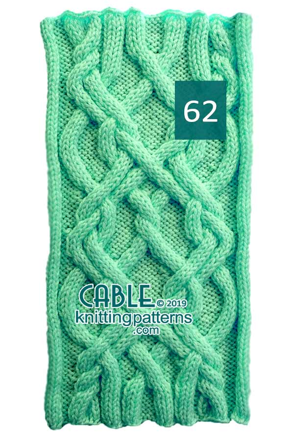 Cable Knitting Pattern 62