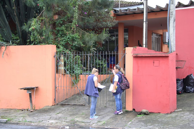 Mutirão de combate à dengue percorre 8 bairros e visita cerca de 1.800 imóveis em Registro-SP