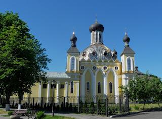 Пінськ. Свято-Варваринська церква. Колишній костел 1786 р.