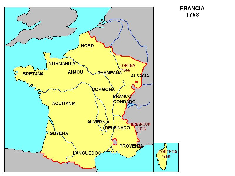 Importantes Ríos De Suiza: Ciudades Francesa Mapa
