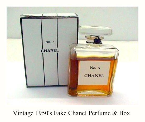 Chanel Perfume Bottles Preventing Fakes