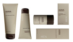 Ahava introduces revamped men's skincare