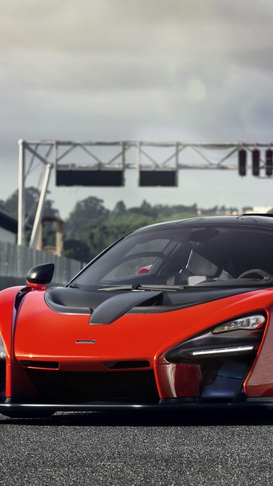 Papel de parede grátis Carro McLaren Senna Delta Red para PC, Notebook, iPhone, Android e Tablet.