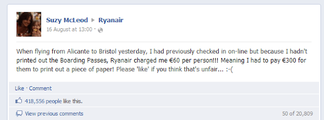 Ryanair picks on a very popular social media figure. It went well.