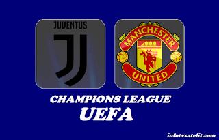 UCL Juventus vs Manchester Biss Key Asiasat 5 8 November 2018