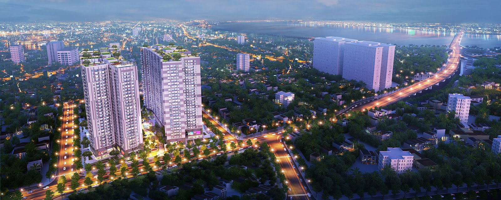 Phối cảnh dự án chung cư Imperia Sky Garden 423 Minh Khai