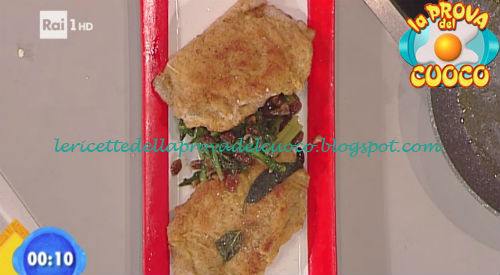 Cordon bleu con verdura ripassata ricetta Marsetti da Prova del Cuoco