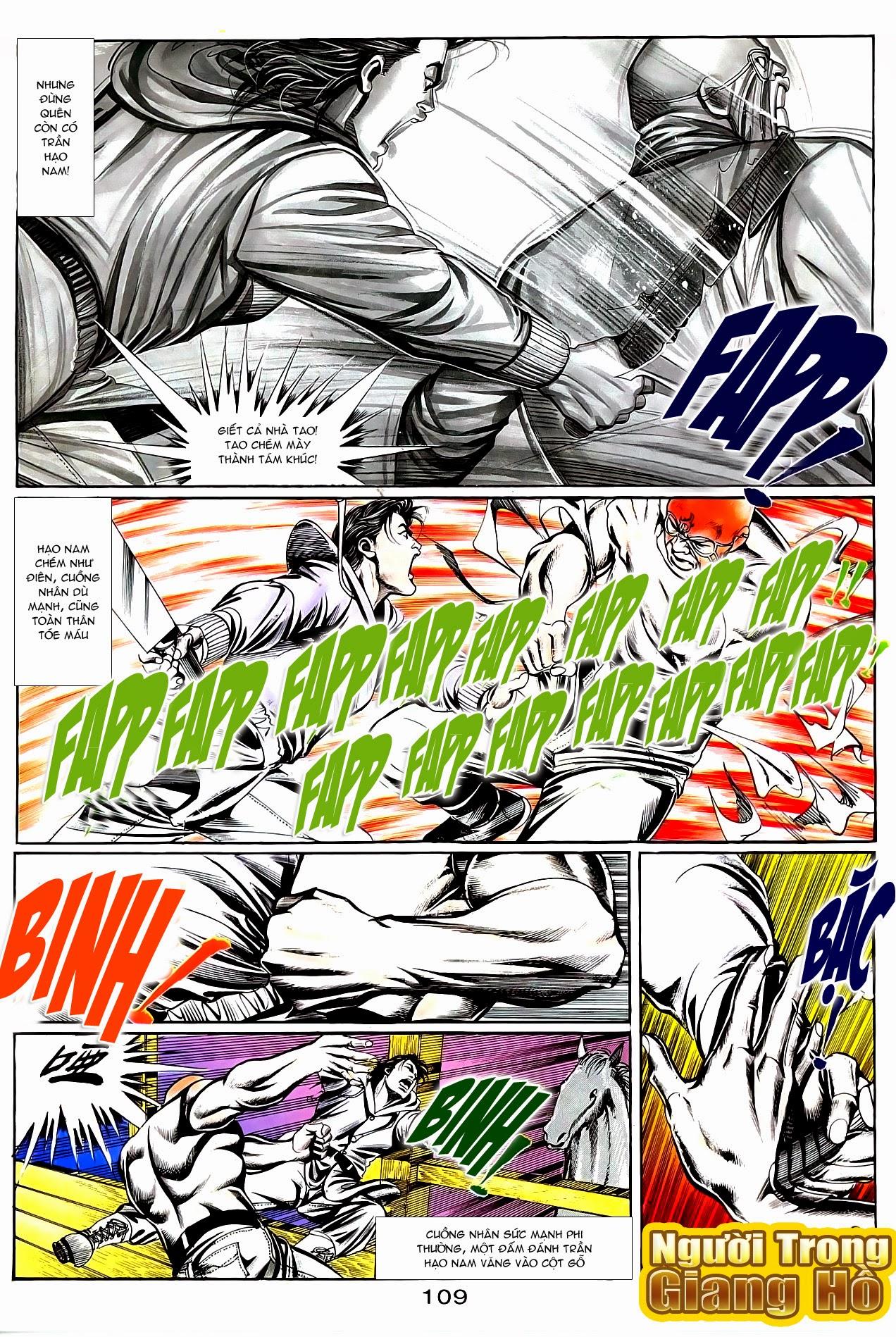 Người Trong Giang Hồ chapter 95: tình kiêu trang 10