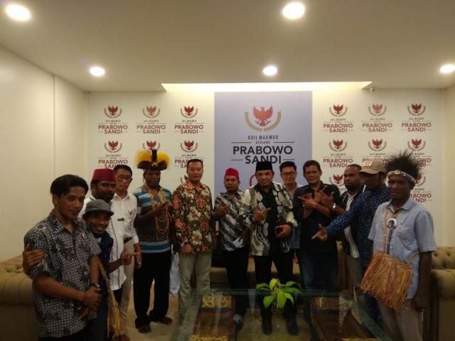 Datang ke Jakarta, Kelompok Warga Papua Ini Deklarasi Dukung Prabowo