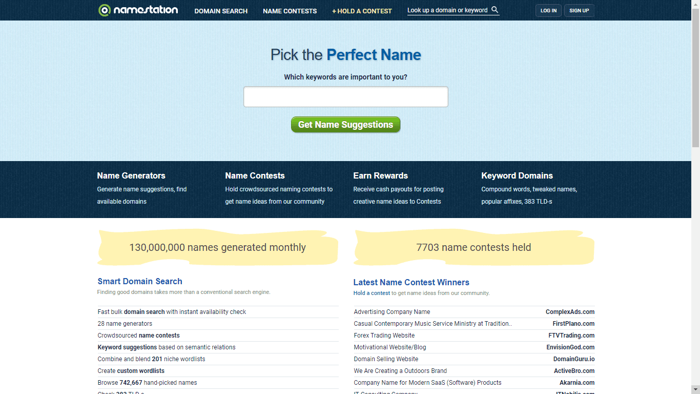 Top 15] Domain Name Generators Of 2019