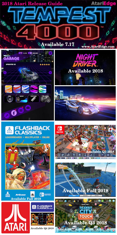 Atari Edge: 2018 Atari Release Guide