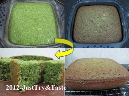 Resep Cake Bayam