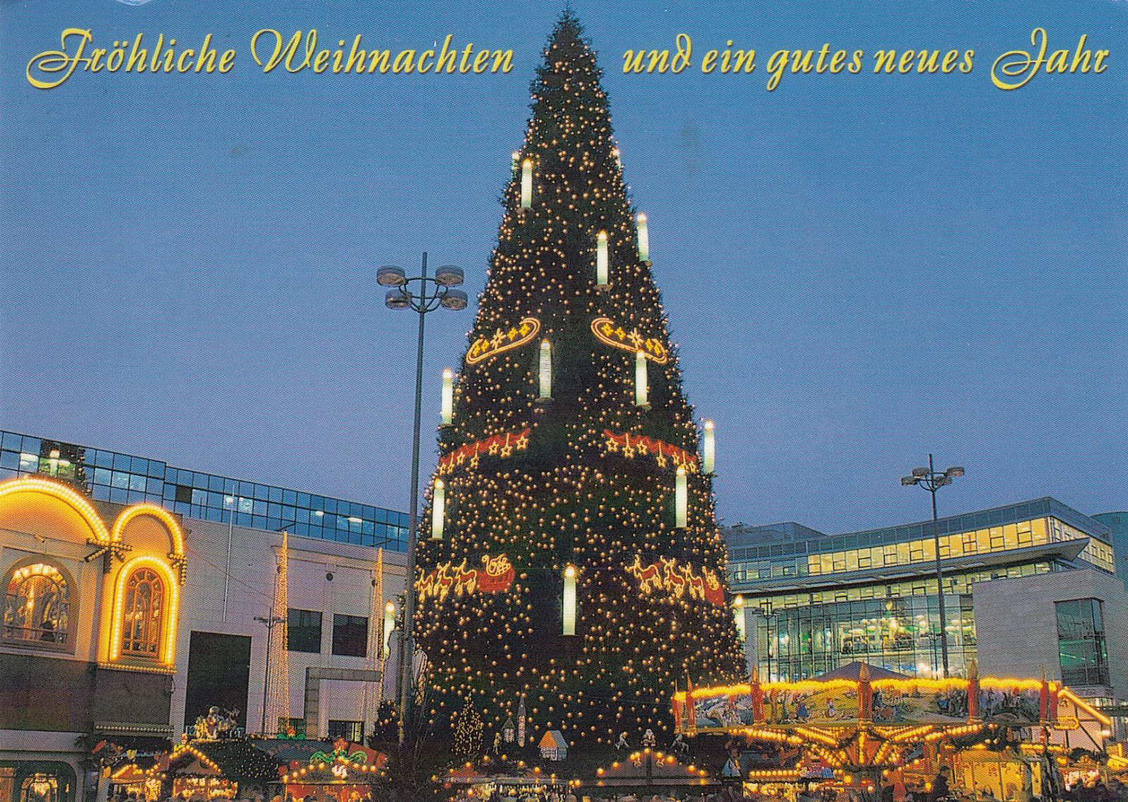 My Postcard And Stamp Week Germany Christmas Market In Dortmund