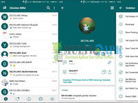 BBM Mod Delight Green v0.0.2 Base Beta v300.2.0.2 Apk