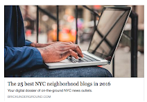 Named one of the best NYC Neighborhood blogs in 2016