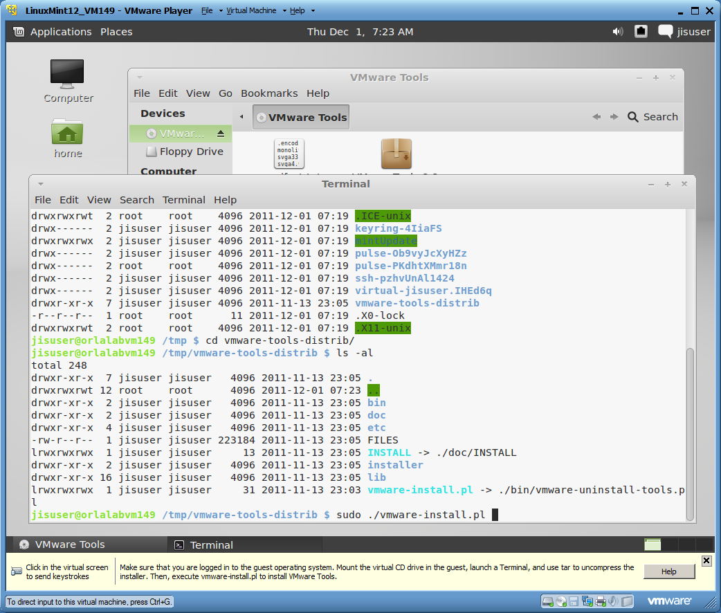 At Work with Linux: Third Time's a Charm — Linux Mint 12