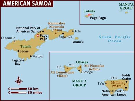 Samoa Americana, Território dos Estados Unidos