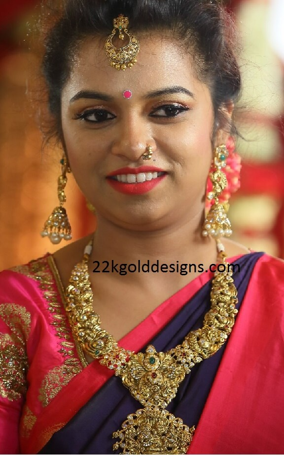 Complete Bridal Nakshi Gold Jewellery