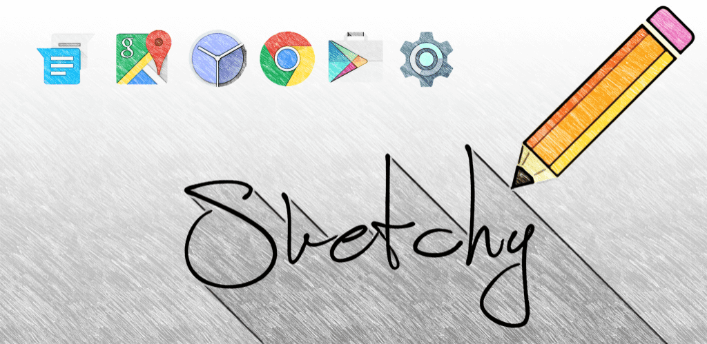 Image result for Sketchy Icon Pack apk