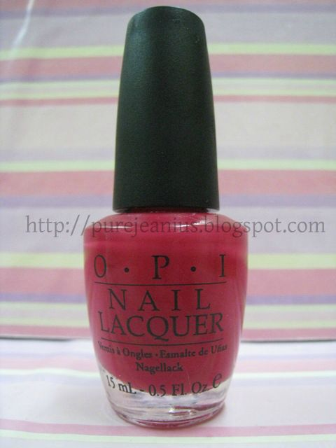 Opi Pure 18k Strikes Again For Easter Egg Nails This Time: Nail Polish Swatch: OPI Conquistadorable