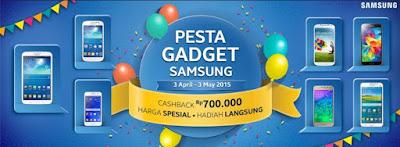 """Samsung Adakan Event """"Pesta Gedget Samsung"""" dan Banyak Hadiah Gratisnya"""