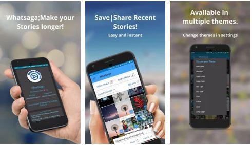 WhatSaga | Longer Stories | Save Status APK Premium