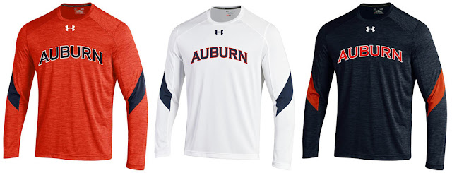2016 Auburn Under Armour short sleeve