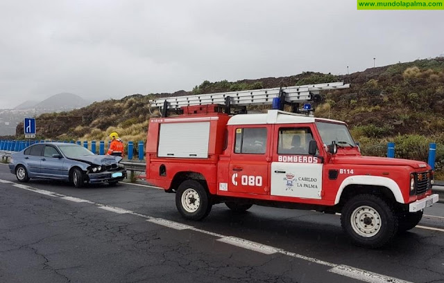 Dos accidentes ayer en La Grama