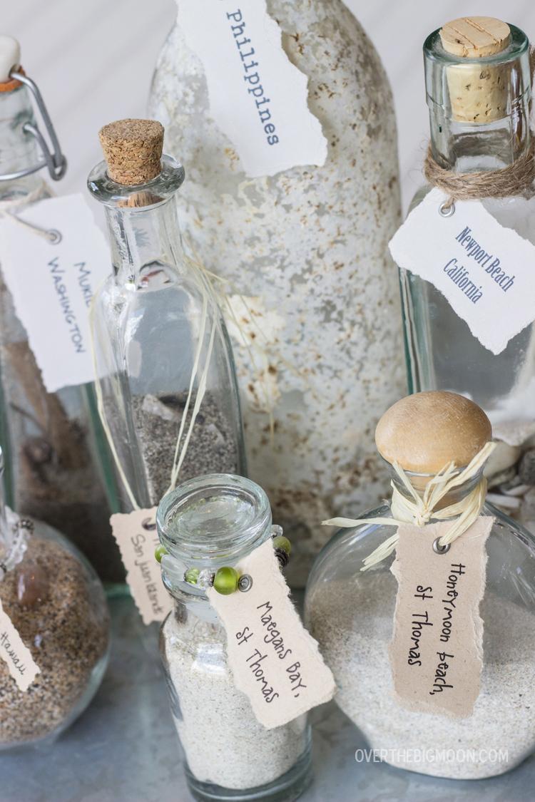 Sand Keepsake Jars