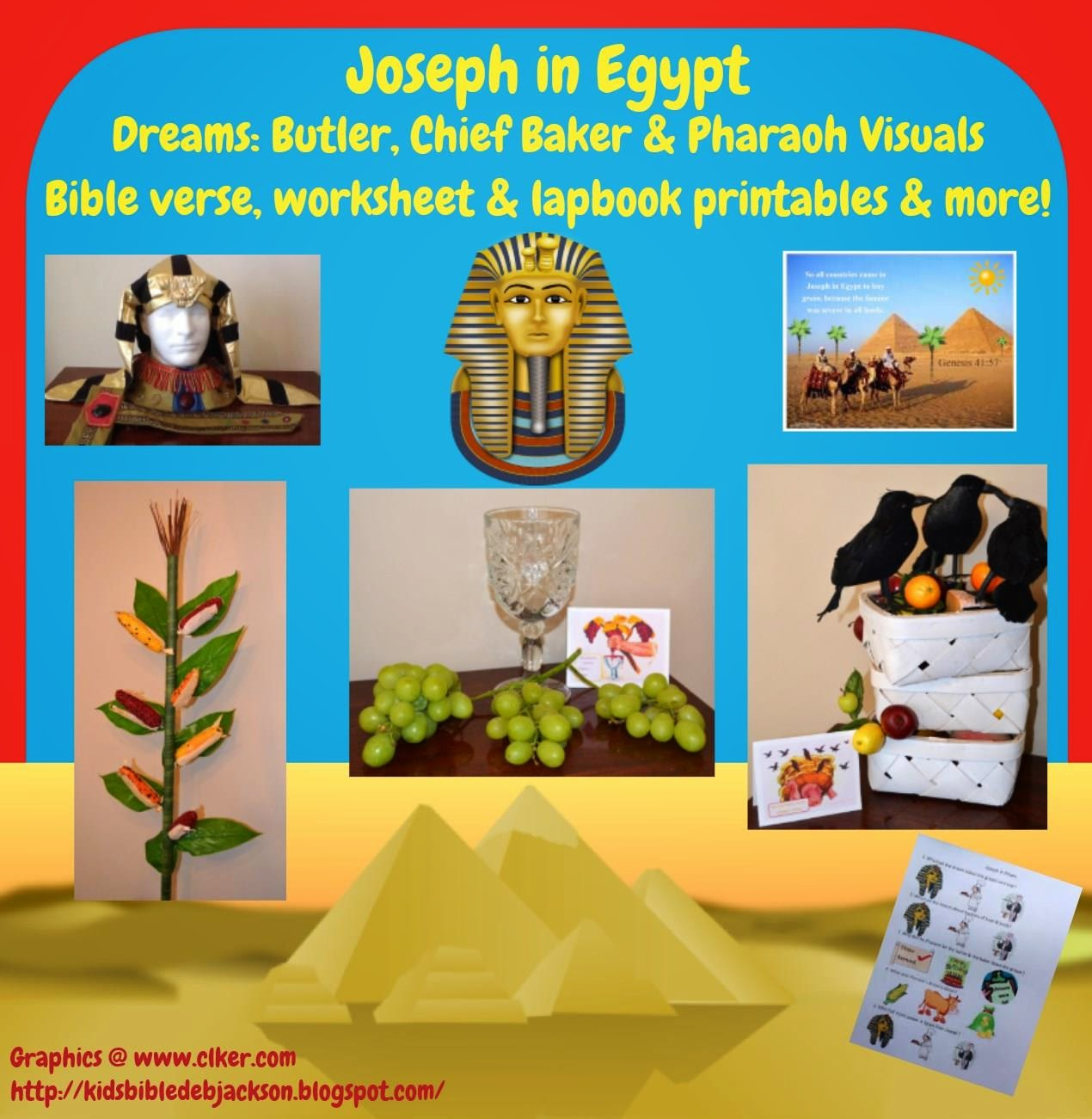 Bible Fun For Kids Genesis Joseph In Prison Amp Pharaoh S