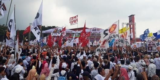 Rhoma Irama Ajak Warga Palembang Tak Golput dan Coblos Prabowo-Sandi