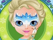 Frozen Baby Barbie Face Painting