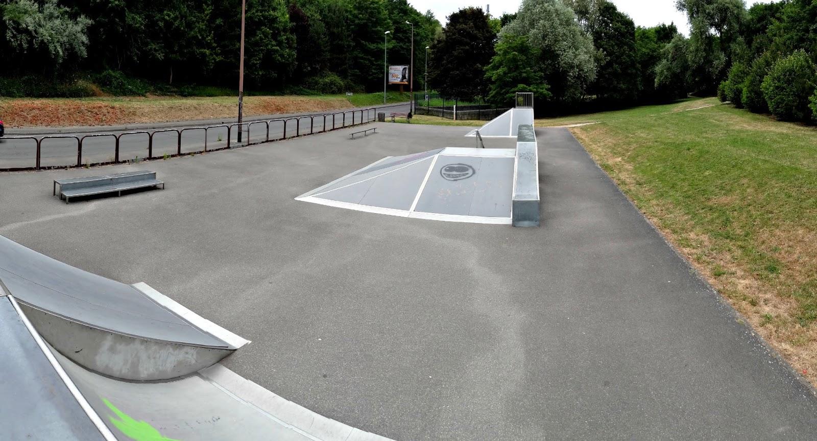 Skatepark Verrires Le Buisson